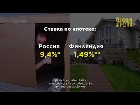 Ставки по ипотеке в разных странах. Что не так с Россией?