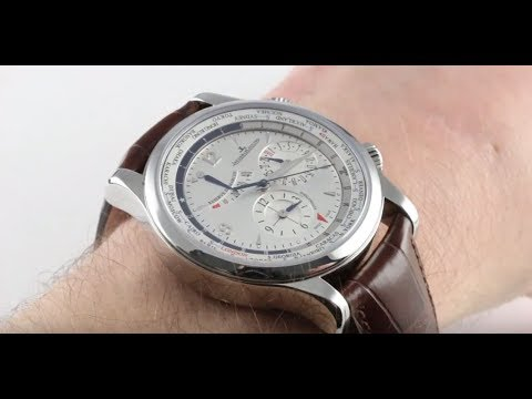Pre-Owned Jaeger-LeCoultre Master World Geographic Q1528420 Luxury Watch Review