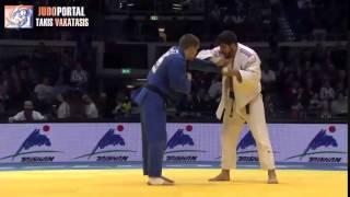 Judo Grand Prix Dusseldorf 2015 -100kg MARET Cyrille (FRA) vs. RAKOV Maxim (KAZ)