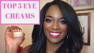 Top 5 Best  Eye Creams For Dark Circles, Wrinkles, Puffinesss  #besteyecream #beautytips