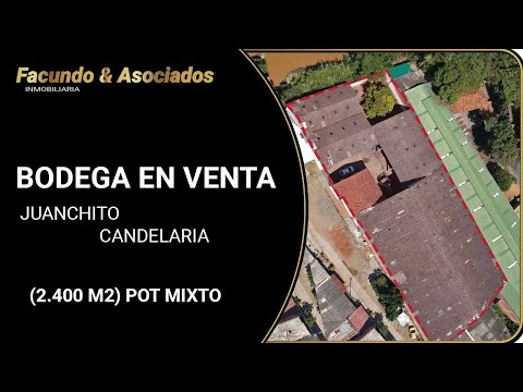Locales y Bodegas, Venta, Candelaria - $1.920.000.000