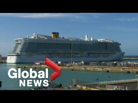 Coronavirus outbreak: Cruise ship with 6,000 passengers stuck at Italian port after virus scare