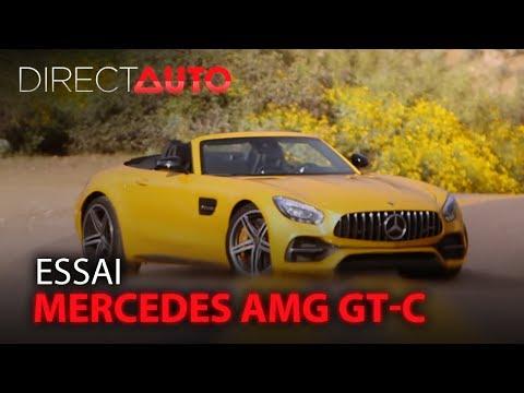 Mercedes-benz AMG GT Roadster - AMG GT Roadster 4.0 V8 557ch GT C Euro6d-T