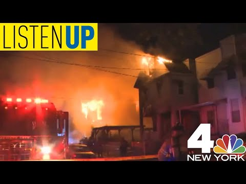 Listen Up: A Massive Fire Destroyed Homes in Jersey City