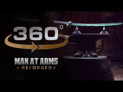 Genjis Sword Assembly & Demo In 360 (4/4)  Overwatch