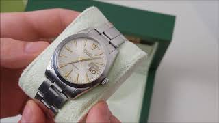 Perfect First Rolex - Oysterdate 6694 - Buying a Rolex at age 22