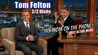 Том Фелтон, Tom Felton - Genuinely Laugh Inducing Conversations - 2/2 Appearances With Craig Ferguson