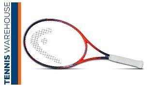 Ρακέτα τέννις Head Graphene Touch Radical MP LTD 25 Years video