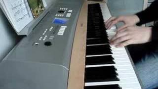 Styrofoam piano (Daniel Powter)