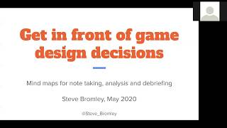 MindMaps: Get In Front of Game Design Decisions