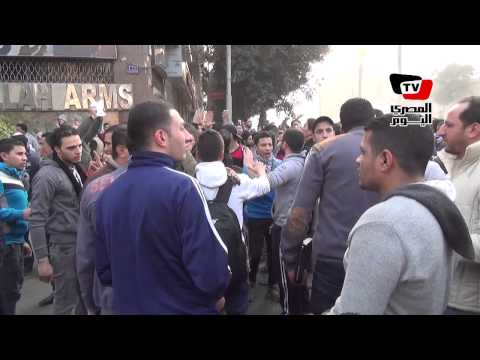 مشادات كلامية بين القوى الثورية وشباب الإخوان في مسيرة نقابة الصحفيين