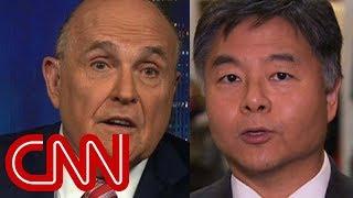 Democrat: Thank you for putting Giuliani on TV