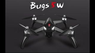 MJX BUGS 5W versione 4k, Primo volo