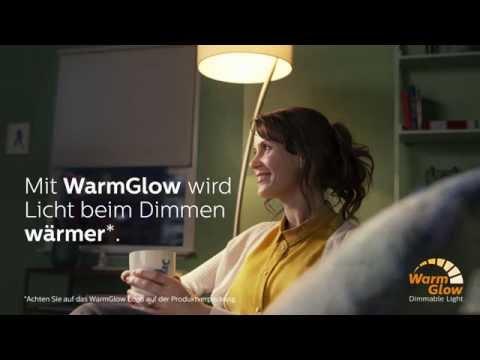"Dimmbare LED-Lampen ""WarmGlow"" von Philips bei Lampenwelt.de"