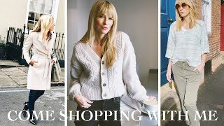 Come Shopping With Me | Try On Designer & High Street Fashion 2019