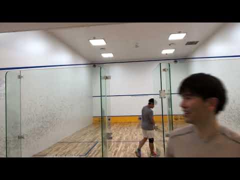 오웬클럽 Owen Club Squash 김회원 코치 vs 유용민 코치