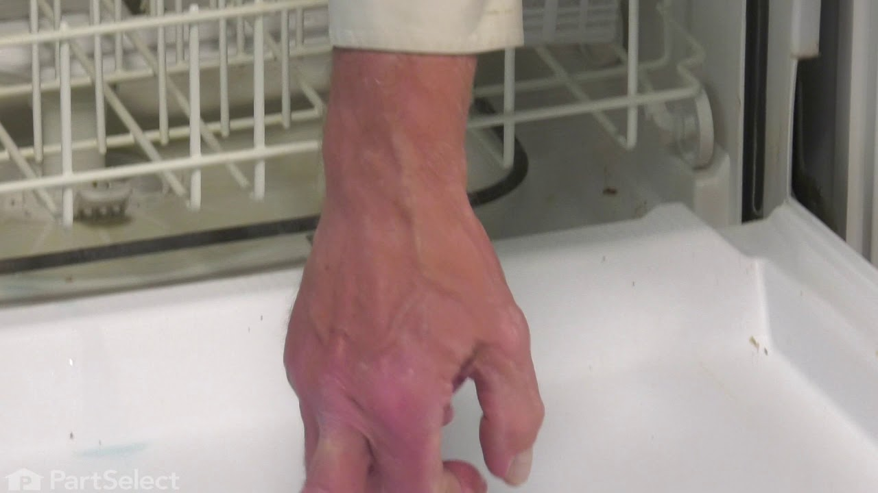 Replacing your Frigidaire Dishwasher Rinse Aid Cap