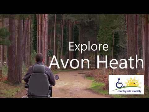 Explore Avon Heath Country Park with Countryside Mobility