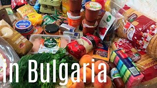 🇧🇬 Grocery Haul In Bulgaria - How Expensive Is It - VISITING BULGARIA - Part 7
