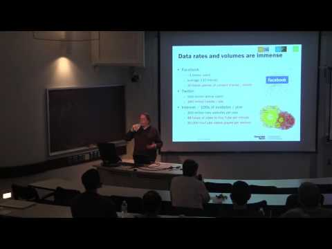 "YouTube: David Bader - ""Massive-Scale Streaming Analytics"""