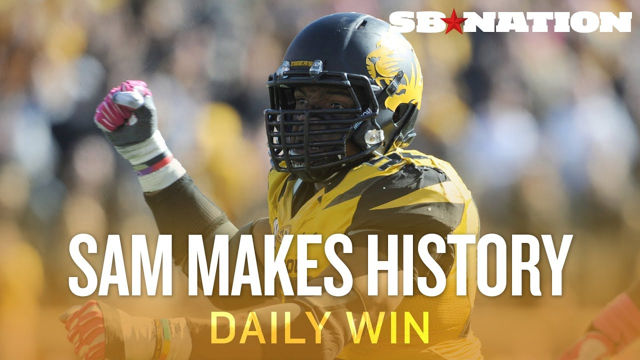 Michael Sam versus the NFL's status quo - The Daily Win thumbnail