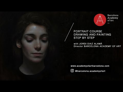 BAA Online | Portrait Drawing and Painting Course with Jordi Diaz Alamà