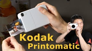 Review: Kodak Printomatic Instant print camera