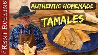 How to Make Tamales - Authentic Homemade Tamales
