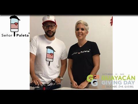 Guayacán Giving Day presenta Ramón Ortiz y Jennifer Serrano de Señor Paleta y sus razones para dar