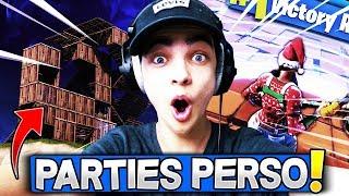 🔴GEMI - VENEZ JOUER EN *PARTIES PERSONNALISÉES* AVEC LES ABONNÉES ! Fortnite Gameplay Fr ✔️