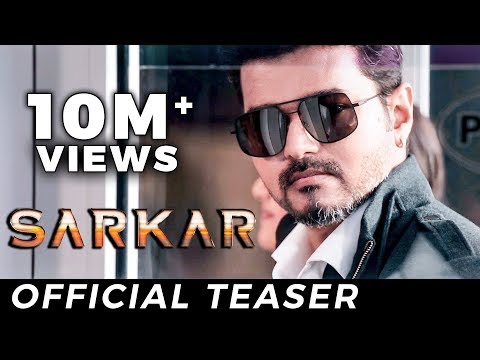 HUGE RECORD: Sarkar Teaser Creates History | Thalapathy Vijay | AR Murugadoss | TK