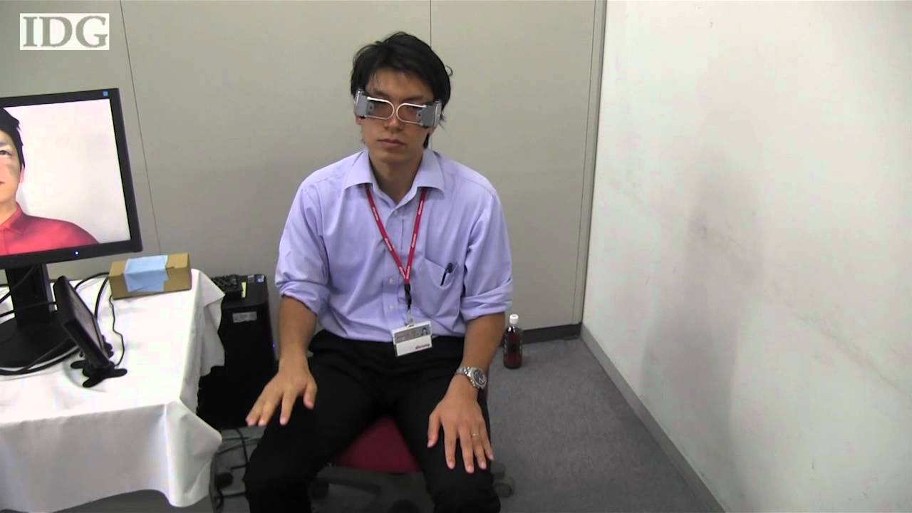 DoCoMo Is Making Video Chat More Realistic By Making You Look Fake