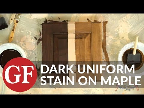 maple wood color how to achieve a dark uniform stain color on maple general finishes