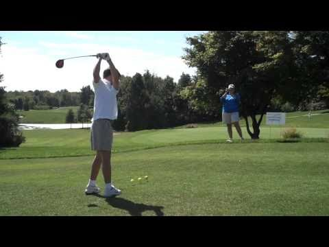 Watch video Down Syndrome: Opening Golf Drive
