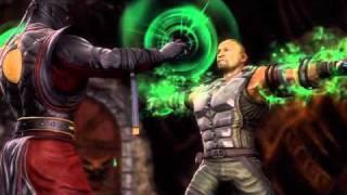 Video (MK9) Jax Loses His Arms!