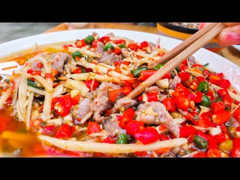 CHINESE Street Food Tour DEEP in Sichuan, CHINA - SPICY & INCREDIBLE STREET FOOD ADVENTURE!