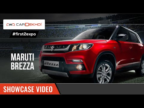 #first2expo: Maruti Suzuki Vitara Brezza | Showcase Video | CarDekho@AutoExpo2016