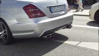 Mercedes S 63 AMG - Hard and Brutal Acceleration Exhaust and Hard Revs [HD]