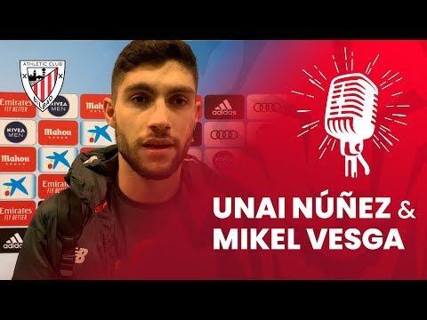 🎙 Unai Nuñez eta Mikel Vesga I post Real Madrid – Athletic Club | J18 LaLiga 2019-20
