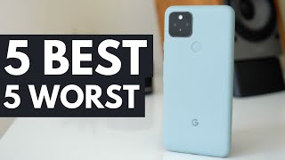Google Pixel 5: 5 best and 5 worst things