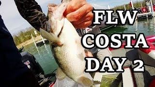 FLW Costa Tournament From Table Rock Lake! Coverage Day 2 - Spring 2018