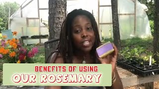 Benefits Of Using Our Rosemary & Lavender Soap