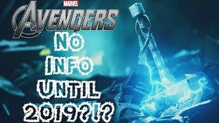 NO Avengers Project Info Until 2019?!? Crystal Dynamics Creative Director Statement Discussion!!!