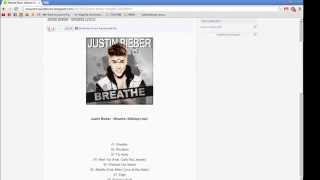 Justin Bieber - Breathe (320kbps mp3) DOWNLOAD