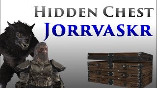 Skyrim: Hidden Chest In The Jorrvaskr