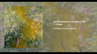 Clarinet Concerto in A major, K. 622