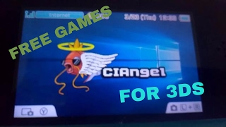 How to get FREE games on your Nintendo 3DS w/ CIAngel