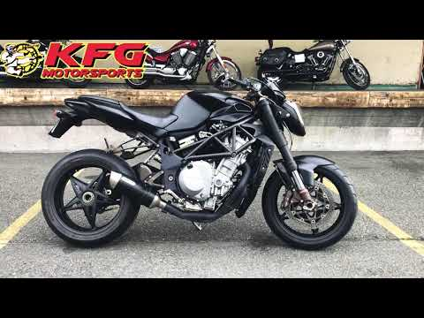 2004 MV Agusta BRUTALE 750 in Auburn, Washington - Video 1