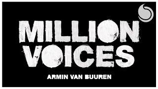 Armin van Buuren - Million Voices (Official Audio)