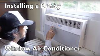 Danby Window Air Conditioner Installation